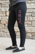 Cmu Flying C 1892 Ladies Black Leggings