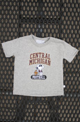 Central Michigan Snoopy Football Infant Or Toddler T-Shirt