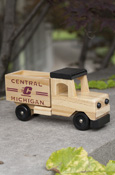 Central Michigan Flying C Wooden Truck