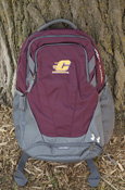 Flying C Under Armour Hustle 3.0 Backpack - Maroon