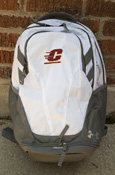 Flying C Under Armour Hustle 3.0 Backpack - White