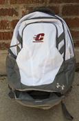 Flying C Under Armour Hustle 3.0 Backpack - White