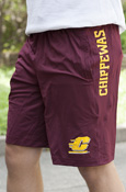 Chippewas Vertical Flying C Maroon Under Armour Shorts