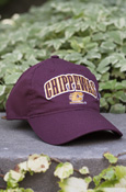 Arched Chippewas Flying C Maroon Hat