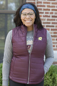 Cutter & Buck Flying C Maroon Ladies Vest