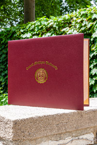CMU College of Medicine Diploma Cover<br><small>BALFOUR</small>