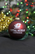 Flying C Central Michigan Maroon Ornament
