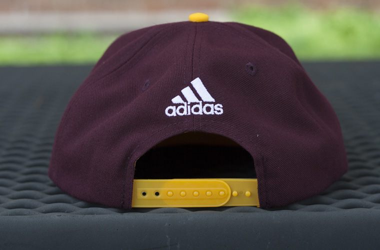 2d79f8a6b27 ... denmark product description. central michigan flying c adidas flatbrim  snapback 44e0e df03e ...
