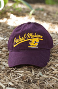 Central Michigan Script Flying C Ladies Adidas Hat