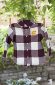 Flying C Flannel Button-Down Youth Shirt