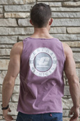 Circle Central Michigan Flying C Vintage Tank With Graphic On Back