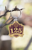 125Th Anniversary Central Michigan Key Chain