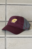 Flying C Maroon And Gray Ladies Nike Adjustable Hat