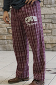 Cmu Chippewas Maroon Flannel Pants