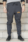 Central Michigan Charcoal Joggers With Zip Pockets