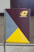 Flying C Triangles 1 Subject College Ruled Notebook