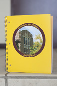 Central Michigan Warriner Gold 1 Subject College Ruled Notebook