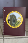 Central Michigan Warriner Maroon 1 Subject College Ruled Notebook