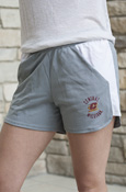 Central Flying C Michigan Ladies Gray Under Armour Shorts