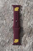 Flying C Apple Watch Maroon Sport Band