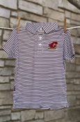 Flying C Striped Youth Polo