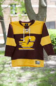 Flying C Maroon and Gold Toddler Hockey Jersey