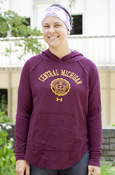 Arched Central Michigan Seal Under Armour Ladies Lightweight Hoodie