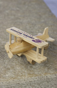 Flying C Central Michigan Wooden Airplane