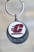 Mom - Flying C Circle Key Chain