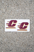 Flying C Removable and Reusable Decal