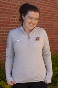 Flying C Ladies Nike Gray 1/4 Zip