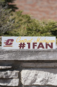 "Central Michigan #1 Fan Sign Approx. 13""X3"""