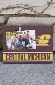 Flying C Central Michigan Clip-It Photo Frame Approx. 10X7.5""