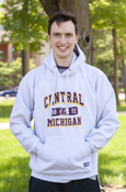 Central Michigan Flying C 1892 Ash Hoodie