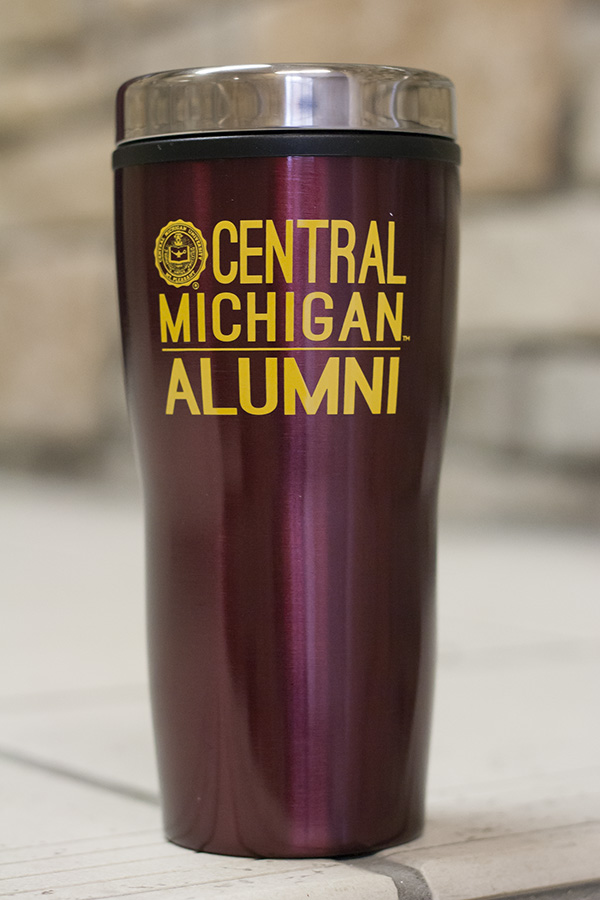 Seal Central Michigan Alumni 16Oz Maroon Travel Tumbler (SKU 5038582922)