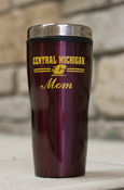 Central Michigan Flying C Mom 16Oz Maroon Travel Tumbler