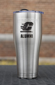 Flying C Alumni Stainless Steel Maroon Vacuum Insulated 30 Oz Tumbler