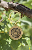 Central Seal Gold Key Chain