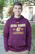 Central Michigan Flying C 1892 Chippewas Maroon Under Armour Hoodie