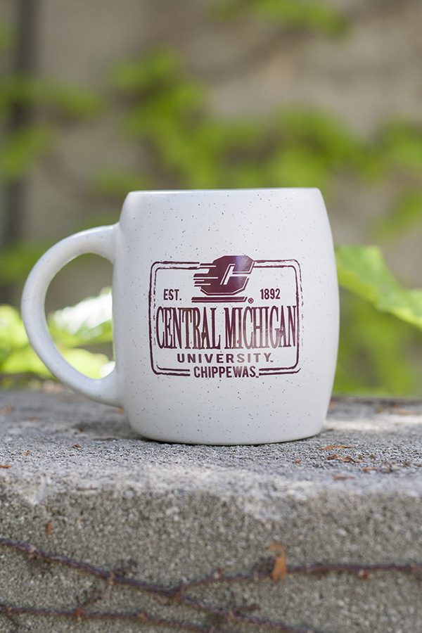 Distressed Central Michigan Rustic Speckled 16Oz Mug (SKU 5039700622)