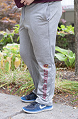 Flying C Central Michigan Gray Sweatpants