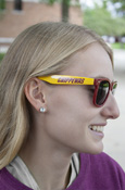 Chippewas Maroon And Gold Sunglasses