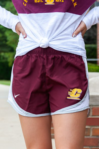 Nike Tempo Maroon Flying C Ladies Shorts
