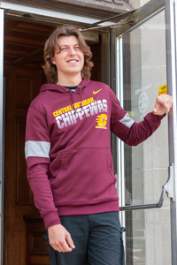 Nike Therma Maroon Central Michigan Chippewas Hoodie