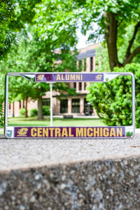 Central Michigan Alumni Metal License Plate Frame