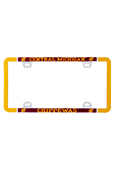 Central Michigan Acrylic License Plate Frame