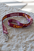 Cmu College Of Medicine Lanyard
