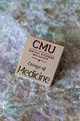 College Of Medicine Silver Lapel Pin