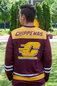 Action C Maroon & Gold Hockey Jersey<br><small>CHAMPION</small>