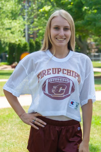 Fire Up Chips! White Crop Mesh Football Jersey<br><small>CHAMPION</small>